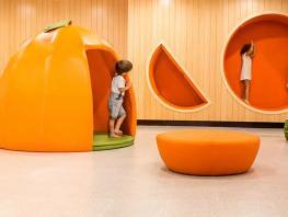 一所由农品场改造的幼儿园